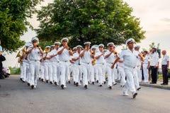 138 anni dalla creazione della marina nell'astuzia Fotografia Stock