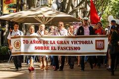 70 anni dalla grande vittoria Fotografie Stock Libere da Diritti