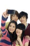 Anni dell'adolescenza asiatici Fotografie Stock Libere da Diritti