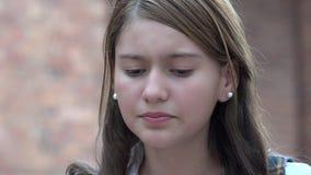 Anni dell'adolescenza depressi Immagini Stock