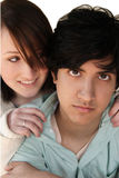 Anni dell'adolescenza di modo dell'anca Fotografia Stock Libera da Diritti