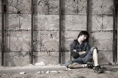 anni dell'adolescenza di problemi Immagine Stock Libera da Diritti
