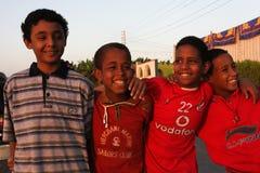 Anni dell'adolescenza nell'Egitto Fotografia Stock