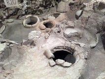 6000 anni della cantina Immagine Stock