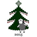 2015 anni della capra Immagini Stock Libere da Diritti
