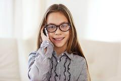 8 anni della ragazza Fotografie Stock Libere da Diritti