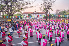 720 anni di Chiang Mai Fotografie Stock Libere da Diritti