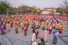 720 anni di Chiang Mai Fotografia Stock