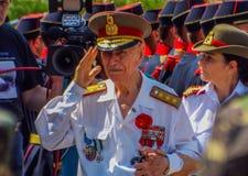 100 anni dopo la prima guerra mondiale in Europa, commemorazione in Europa, eroi rumeni Immagine Stock