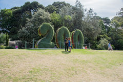 200 anni: Giardino botanico reale Sydney Fotografia Stock Libera da Diritti