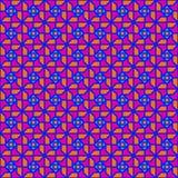 Anni settanta geometrici Fotografia Stock Libera da Diritti