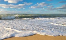 2016 anni sulla riva di mare Immagine Stock Libera da Diritti