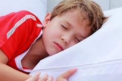 7 anni svegli di ragazzo s Immagine Stock Libera da Diritti