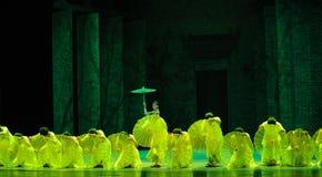 Anni- verdi in secondo luogo di atto degli eventi di dramma-Shawan di ballo del passato Immagine Stock Libera da Diritti