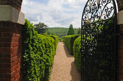 Annie duPont Formal Garden stock photos