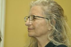 Annie Leibovitz at Hermitage State museum Stock Photos