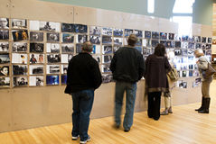 Annie Leibovitz Lobby Exhibit Stock Image