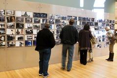 Annie Leibovitz lobbyutställning Fotografering för Bildbyråer