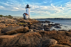 Annisquam lighthouse Stock Images