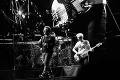 2017 anniversaire d'U2 Joshua Tree World Tour-30th Image stock