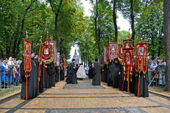 Anniversaire de célébration de Vladimir 1000th du repos, Kiev, Ukraine, Photographie stock