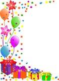 anniversaire de fond heureux Images libres de droits