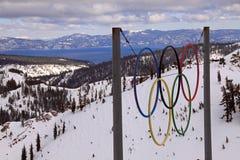 Anniversaire de Jeux Olympiques cinquantième Photo stock