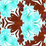 Anniversaire de ketmie de kaléidoscope de batik Image stock