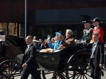 Anniversaire de la Reine Margarethe de Denmarks soixante-dixième Photos stock