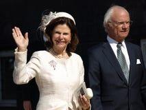 Anniversaire de la Reine Margarethe de Denmarks soixante-dixième Images libres de droits