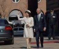 Anniversaire de la Reine Margarethe de Denmarks soixante-dixième Images stock