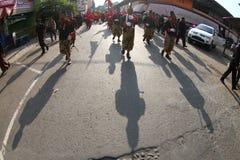 Anniversaire de roi de Surakarta image stock