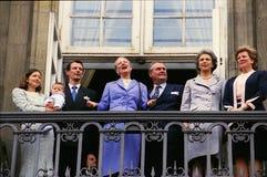 ANNIVERSAIRE DE S.M. QUEEN MARGRETHE II Photo stock