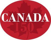 Anniversaire du Canada 150 - jour de Canada Image libre de droits