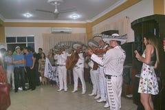 Anniversaire en Bolivie, Amérique du Sud Photo stock