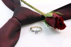 Anniversaire et romance Images stock