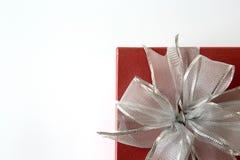 anniversaire heureux Chri de carte de voeux de vacances de Noël de boîte-cadeau Images stock