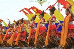 Anniversaire Sragen de ville de carnaval Image libre de droits