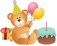 Anniversaire Teddy Bear illustration stock