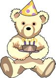 Anniversaire Teddy Bear Images stock