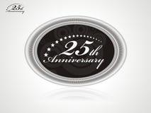 anniversario 25 Immagini Stock Libere da Diritti
