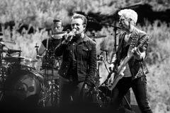 2017 anniversario di U2 Joshua Tree World Tour-30th Immagini Stock Libere da Diritti
