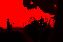2017 anniversario di U2 Joshua Tree World Tour-30th Fotografia Stock Libera da Diritti