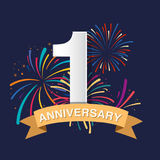 Anniversary background Royalty Free Stock Photos