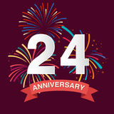 Anniversary background Royalty Free Stock Photography