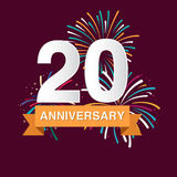 Anniversary background Royalty Free Stock Photo