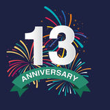Anniversary background Royalty Free Stock Images