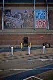 Anniversary of the boston fish pier. Daytime photo of the anniversary of the boston fish pier Stock Photo