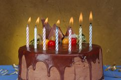 Anniversary Cake Royalty Free Stock Photos