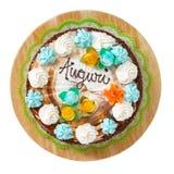 Anniversary cake Royalty Free Stock Image